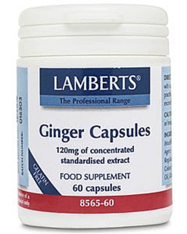 Lamberts Ginger 12,000mg - 60